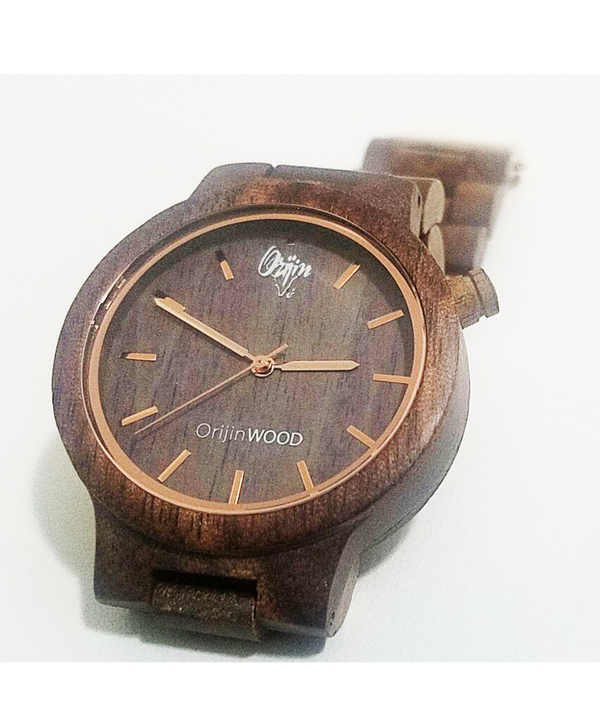 OrijinWood Watch (1957) | BlackSandal - by Orijin Culture