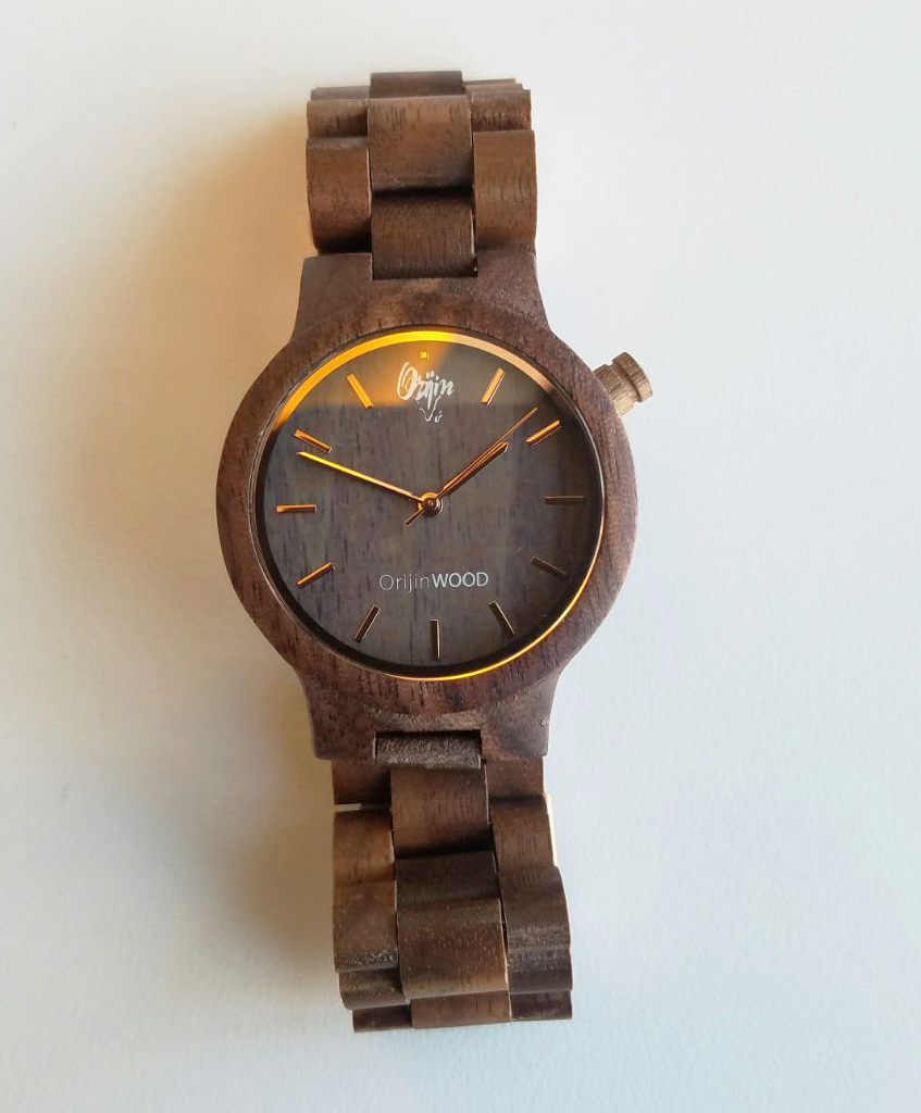 OrijinWood Watch (1957) | BlackSandal