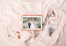 Load image into Gallery viewer, ROSE GOLD Glass 4x6 proof box