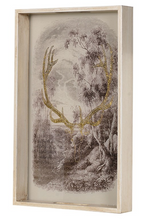Load image into Gallery viewer, Gold Antler Tray