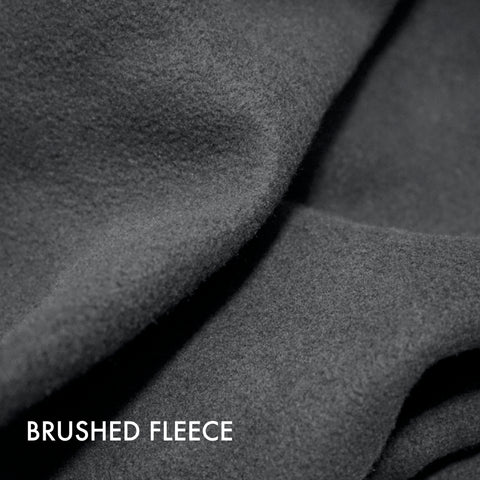 brushed fleece