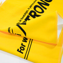 Load image into Gallery viewer, yellow micro-fibre sport towel