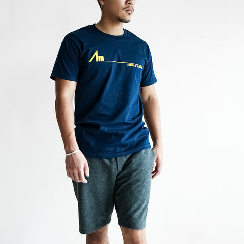 Am____ BASIC TEE | NAVY
