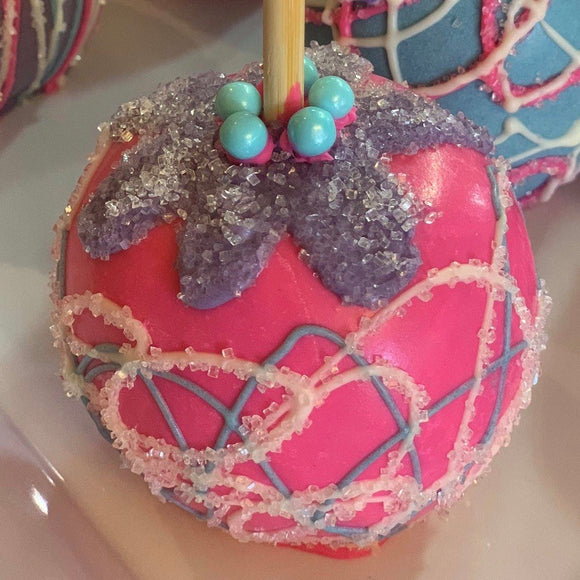 Pink Blossom Chocolate Apple