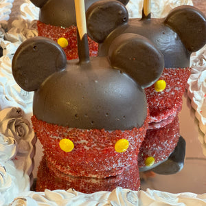 Mickey Mouse Chocolate Apple