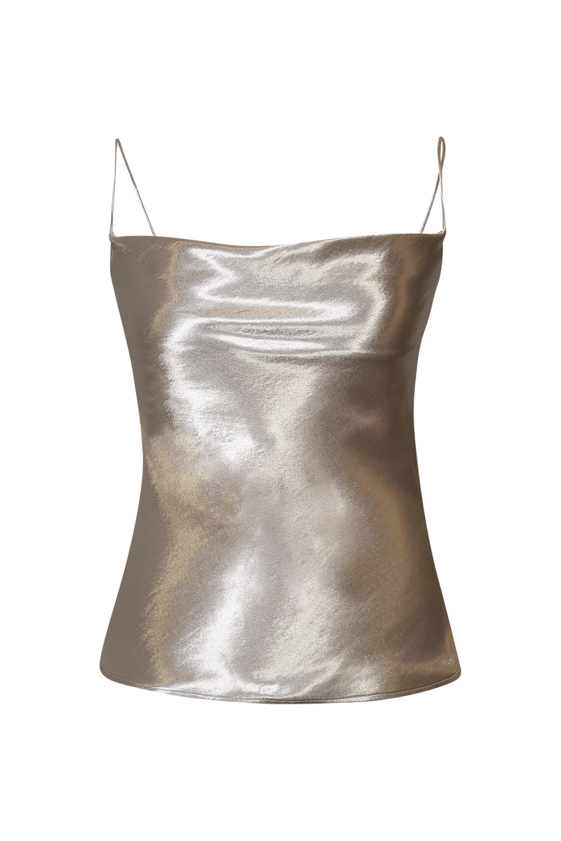 Silver Metallic Camisole - Perfect your own way