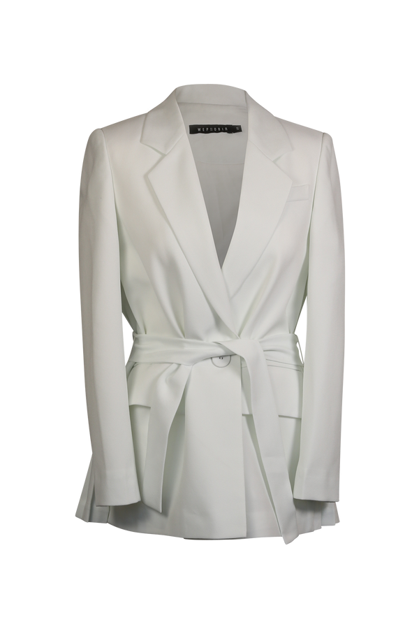 Pleated Detailed Blazer Blazer / Jacket- Perfect your own way