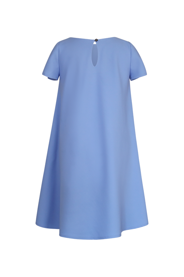 Baby Blue Swing Dress Top- Perfect your own way