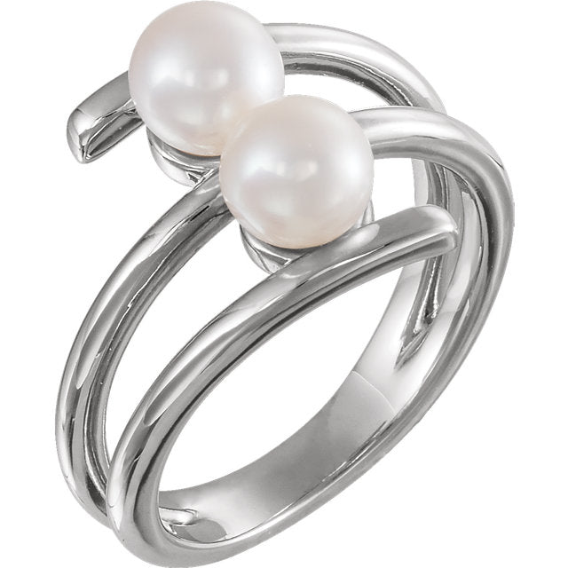 WOW Pearl Fashion | 14K Freshwater Cultured Pearl Ring