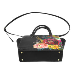 WOW | i Collection Women's Classic Stylify Colorful Floral Pattern Shoulder Handbag
