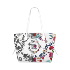 WOW | i Collection B&W Colorful High Grade White Classic Tote Bag