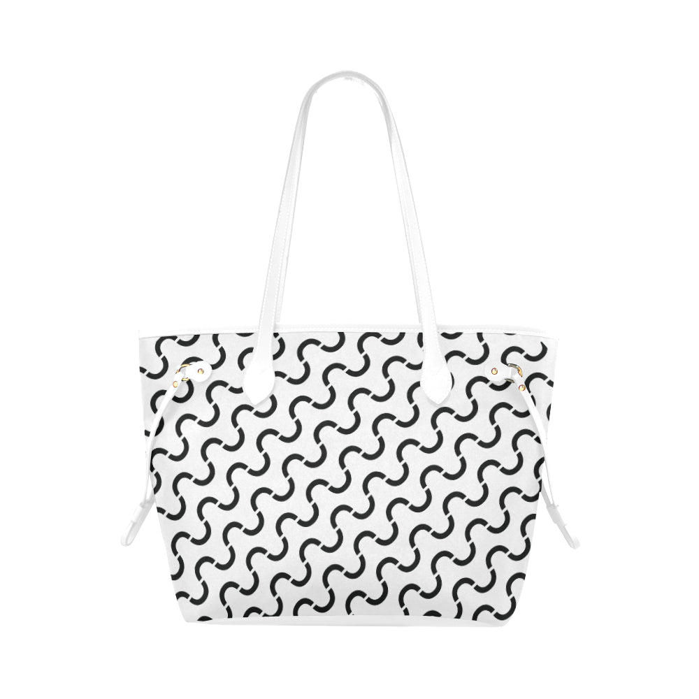 WOW | i Collection S-Wave High Grade B&W Classic Tote Bag