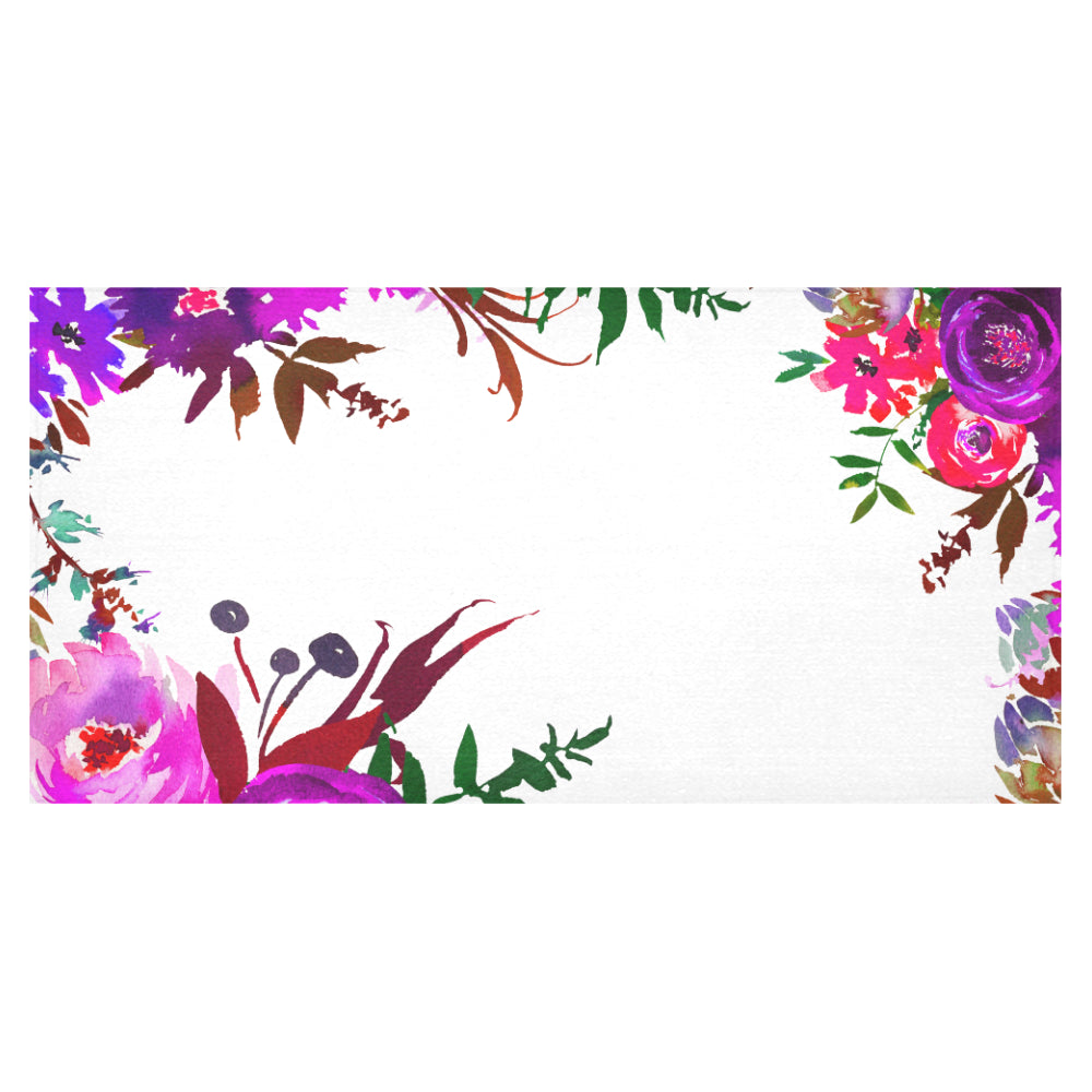 WOW | i Collection Colorful Floral Tablecloth 60x120 Decoration