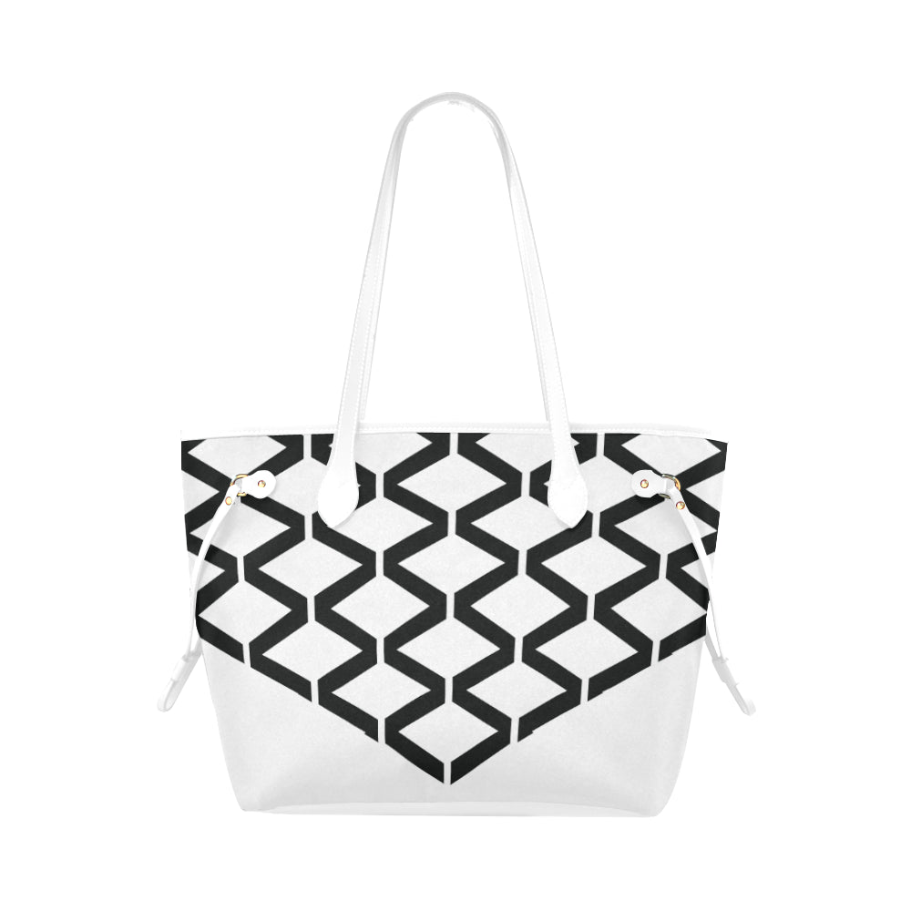 WOW | i Collection Diamondy High Grade B&W Classic Tote Bag