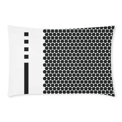 WOW | i Collection 3 Piece B&W Hexi Pattern Bedding Set