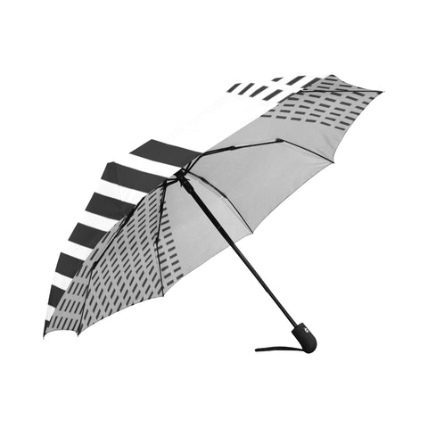 WOW | i Collection Automatic Foldable B&W Pattern Designer Umbrella