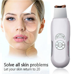 Deeply Ultrasonic Facial Skin Cleaner Blackhead Removal Detoxify Device