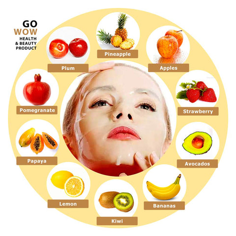 Natural Fruit & Vegetable Automatic Face Mask Maker Machine DIY Treatment  | FREE SHIPPING