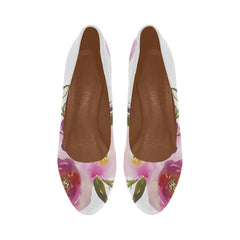 WOW | i Collection Women's High Heels Soft Pink Floral Fashion Shoes