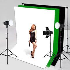 Pro Studio Non-Woven Backdrop Background Green - Black - White Screens