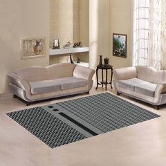 WOW | i Collection Geo Hexi Pattern Area Rug 7' x 5'