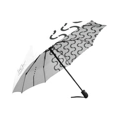 WOW | i Collection Automatic Foldable B&W S-Wave Designer Umbrella