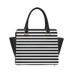 WOW | i Collection Women's Classic Stylify Stripes Pattern Shoulder Handbag
