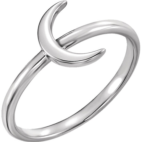 WOW Metal Fashion | Crescent Ring