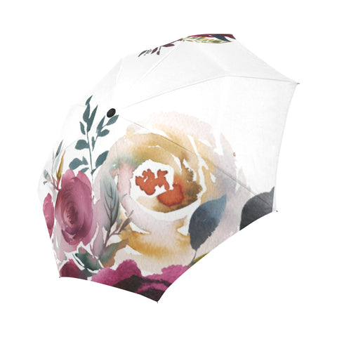 WOW | i Collection Automatic Foldable Designer Floral Umbrella