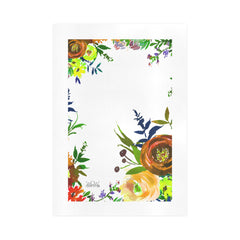 WOW | i Collection Colorful Floral Art Design 16x23 Print