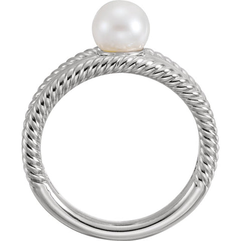 WOW Pearl Fashion | 14K Multi Design Freshwater Cultured Pearl Ring