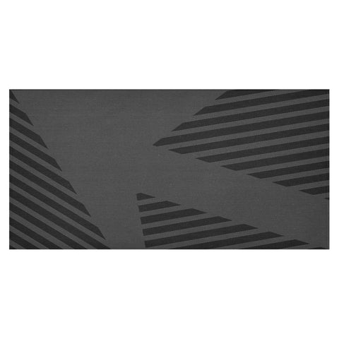 WOW | i Collection Black and Grey Geo Patterns Tablecloth 60x120 Decoration