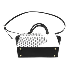 WOW | i Collection Women's Classic Stylify Rectangular Pattern Shoulder Handbag