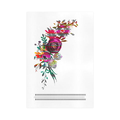 WOW | i Collection Colorful Floral & Fine Rectangular Art Design 16x23 Print