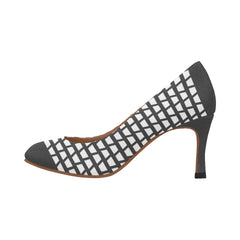 WOW | i Collection Women's Pumps High Heels Four Side Pattern Shoes
