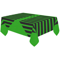 WOW | i Collection Hexi Pattern Green Tablecloth 60x120 Decoration