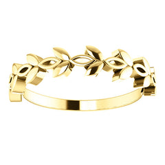 WOW Metal Fashion | Stackable Marquise Design Ring