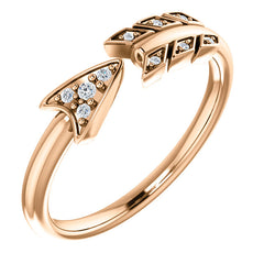WOW Diamond Fashion | 14K .04 CTW Diamond Arrow Ring