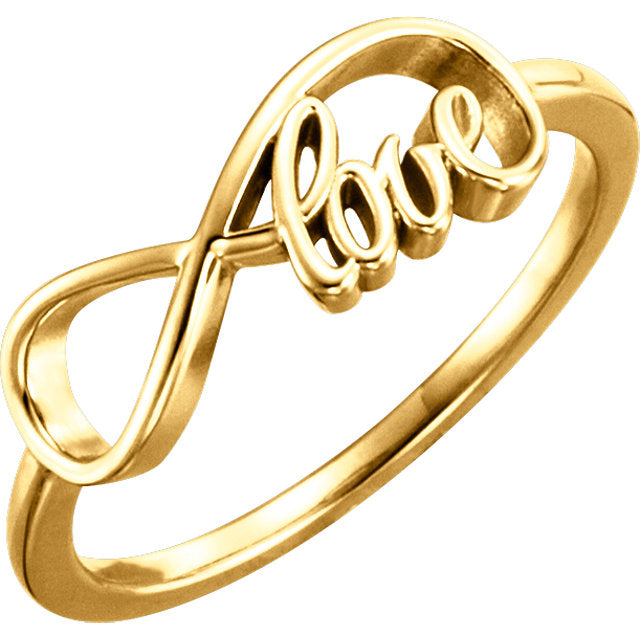 WOW Metal Fashion | Love Infinity-Inspired Ring