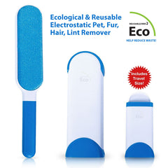 Ecological Reusable Electrostatic Pet, Fur, Hair Lint Remover | FREE Shipping