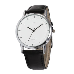 WOW | J Collection Black Strap Double-layer Concise Dial Water-resistance Quartz Watch