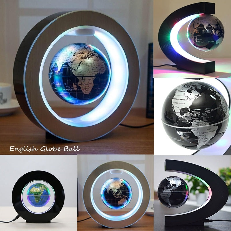 Levitation Floating Globe Home/Office LED Light