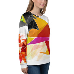 WOW | P Collection Colorful Geo Patterns Unisex Sweatshirt