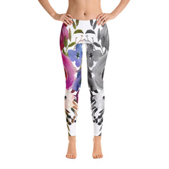 WOW | P Collection Floral White Leggings