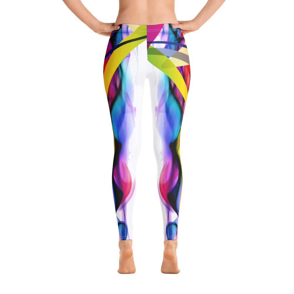 WOW | P Collection Colorful Fire Design Leggings