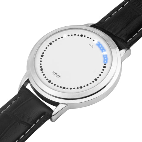 WOW | J Collection Premium Silver Touch Screen Water-resistant Smart LED Watch