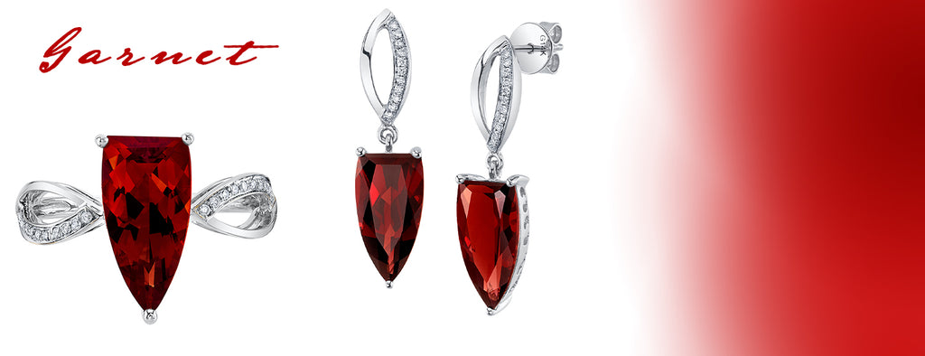 TVON Garnet Birthstones - The Best Jewelry for January Birthdays