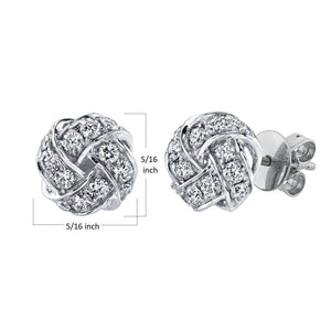 14K 0.45 Cttw VS Diamond Earrings - TVON.com