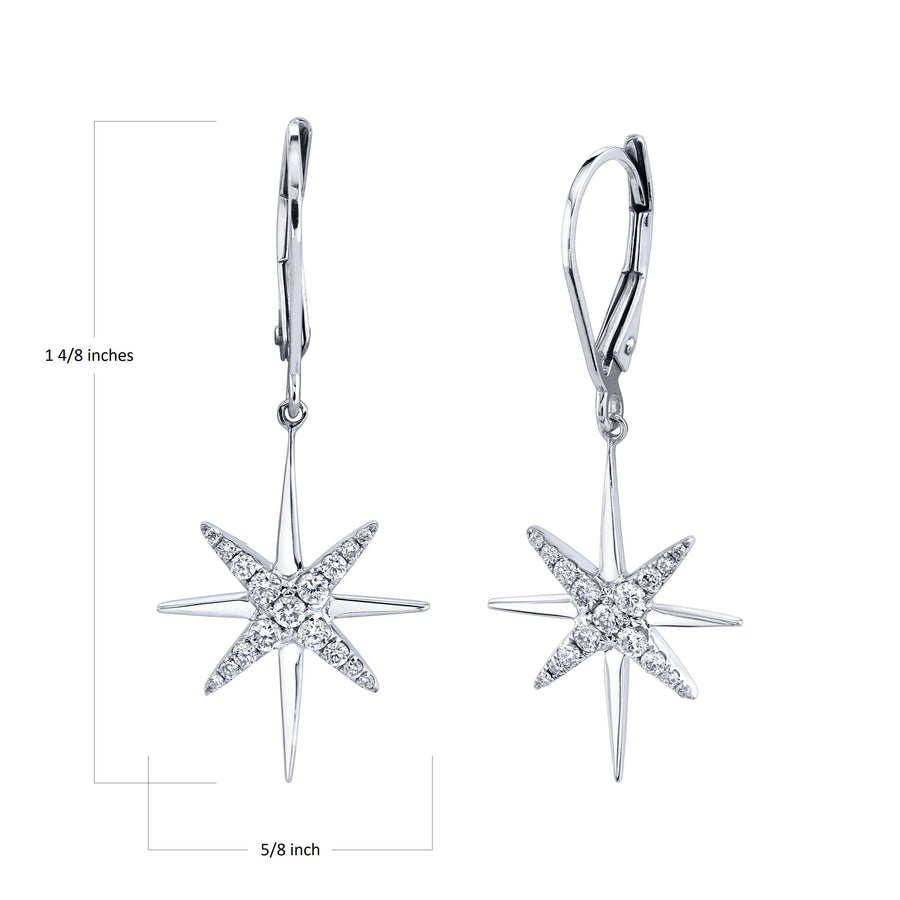 14K 0.33 Cttw VS Diamond Earrings