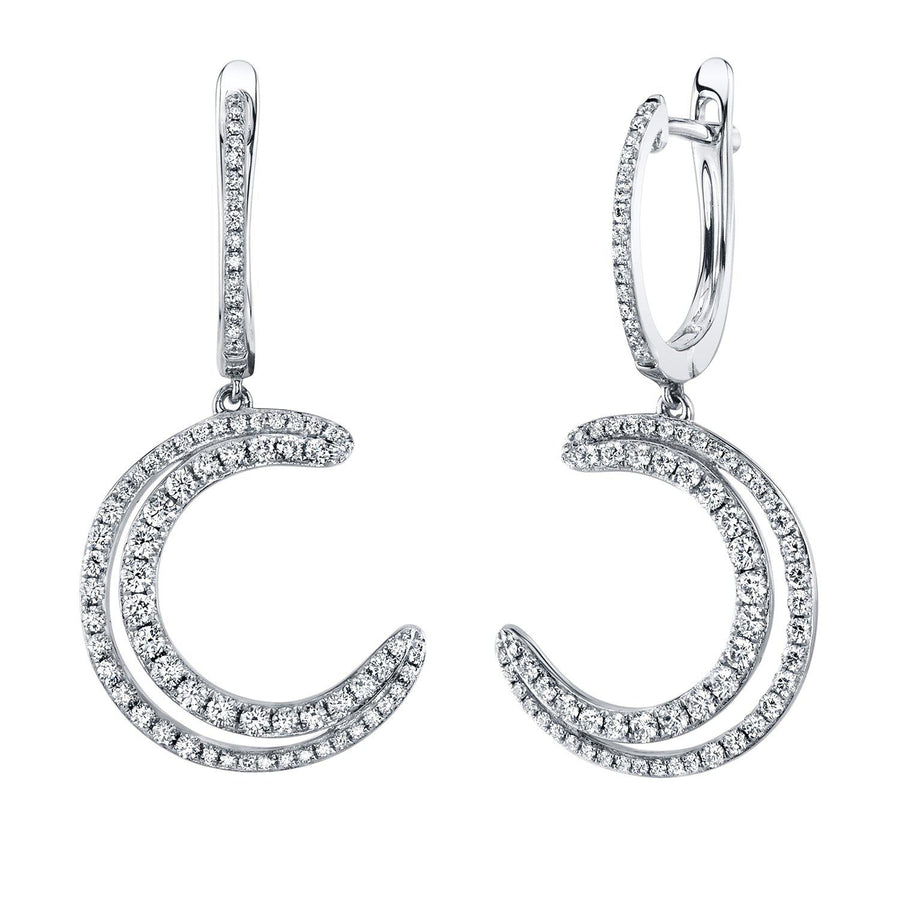14K 0.91 Cttw VS Diamond Earrings - TVON.com